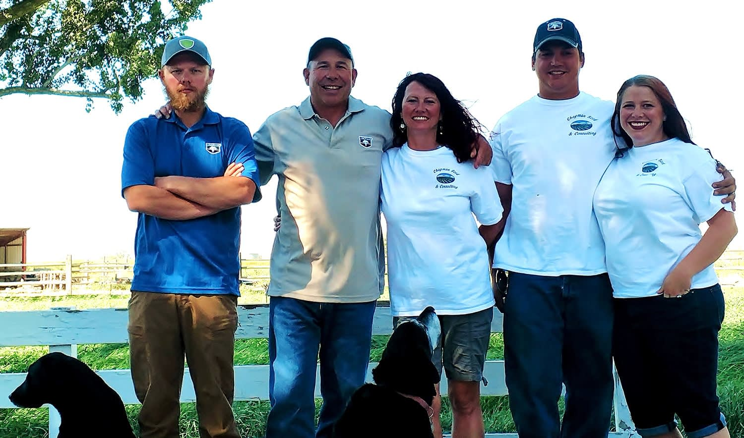 The Chapman Seed & Consulting Staff